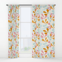 SpringDance #society6 #buyart #decor Window Curtains by mirimo