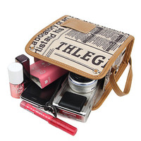 Antique Newspaper Instax Camera Bag