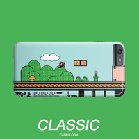 Super Mario Classic Video Game IPhone 4 5 6 Plus / Galaxy Phone Case