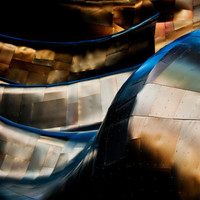 Metal Waves II - Metal, Fine Art Photography, Gallery Wrap or Print, Multiple Sizes