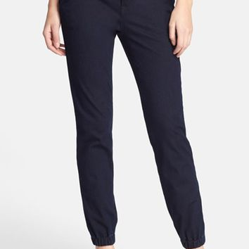 Women's Vince Denim Jogger Pants (Rinse)
