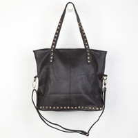 Pyramid Stud Tote Bag Black One Size For Women 22909010001