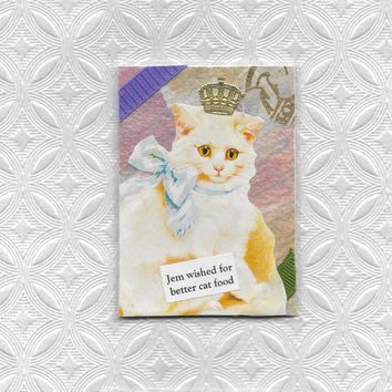 Cute Cat ACEO Art Card for Fussy Cats and Those Who Love Them - You Gotta Do Better Than This