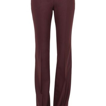Akris 'Fairytale' Stretch Wool Flannel Pants | Nordstrom