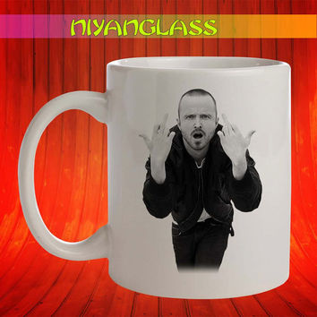 Aaron Paul mug, Aaron Paul cup, Aaron Paul mugs, personalized cup, funny mugs, birthday ceramic mug
