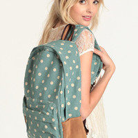 Sweet Adventures Polka Dot Backpack - $48.00: ThreadSence, Women's Indie & Bohemian Clothing, Dresses, & Accessories