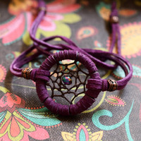NEW COLOR  Dreamcatcher Adjustable Bracelet/ 'in stock/ready to ship'