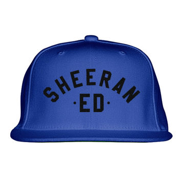 Ed Sheeran The A Team Embroidered Snapback Hat