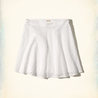 Girls Eyelet Skater Skirt | Girls Hollister Sale | HollisterCo.com