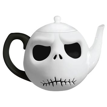 Disney by Vandor Nightmare Before Christmas Jack Head Teapot New with Box