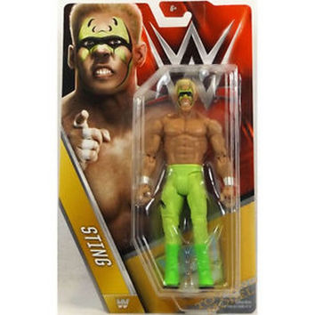 Sting 2015 WWF Wrestling Action Figure New in Box WWE
