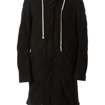 PEAPONJF Rick Owens DRKSHDW oversized hooded coat