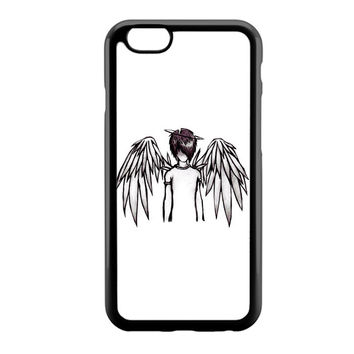 emo angel by lovehurts iPhone 6 Case