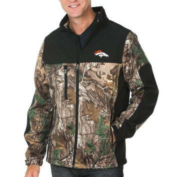Denver Broncos Hunter Full Zip Jacket - Realtree Camo