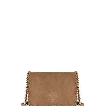 Tory Burch Marion Suede Combo Cross-body
