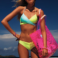 Body Wrap Swim Top - PINK - Victoria's Secret