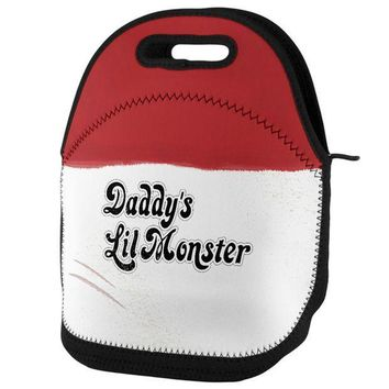 ESBGQ9 Daddy's Lil Monster Lunch Tote Bag