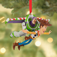 Disney Buzz Lightyear and Woody Sketchbook Ornament | Disney Store