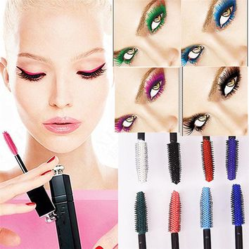 Multicolor Waterproof Extension Curling Eye Lashes Mascara