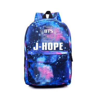 2017 Korean BTS Backpacks For Teenage Girls Star backpack Fashion Kpop Bag Mochila Bts Escolar Feminina Escolares Adolescentes
