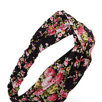 FOREVER 21 Knotted Rose Headwrap