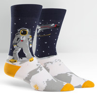 One Giant Leap Crew Socks