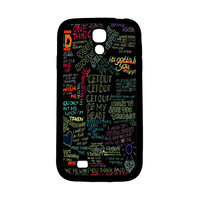 one direction song Samsung Galaxy S4 Case