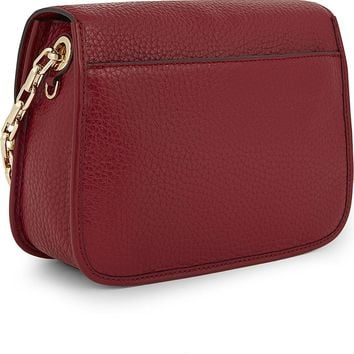 MICHAEL KORS COOPER SMALL CROSSBODY IN Cherry Red