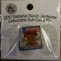 2010 BSA Jamboree Sub Camp 2 Liberty Bell Pin Boy Scout NJ Collectible Souvenir