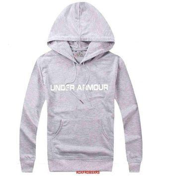 ICIKJL0 Under Armour Women Men Casual Long Sleeve Top Sweater Hoodie Pullover Sweatshirt