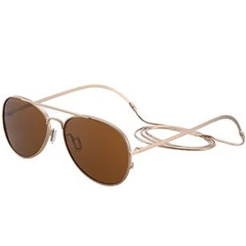 Ksubi Aviator Brown Lens Sunglasses 307766