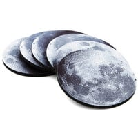 ModCloth Cosmic Phase and Nights Coaster Set