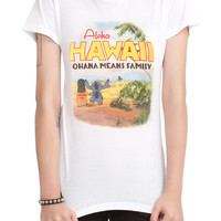Disney Lilo & Stitch Hawaii Girls T-Shirt