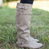 The Outlaw Boots Beige