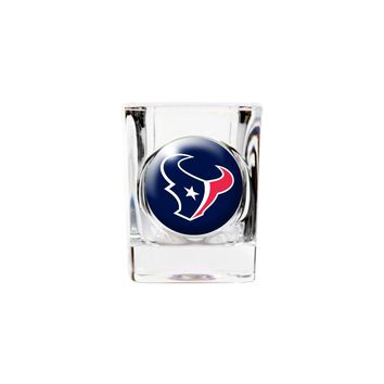 Houston Texans 2oz Square Shot Glass - Etching Personalized Gift Item