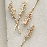 Leafling Bobby Set by Anthropologie in Gold Size: One Size Hair