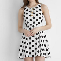 FONTAINE POLKA DOT DRESS
