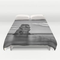 """Phantom""  Duvet Cover by Guido Montañés"