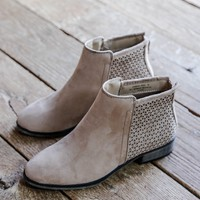 Saber Ankle Boot, Tan