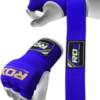 RDX Inner Hand Wraps Gloves Boxing Blue