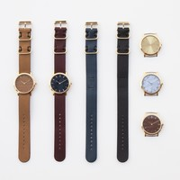 The Classic Collection – An Interchangeable Everyday Watch with a Natural Twist