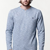 Volcom Same Same Henley Long Sleeve T-Shirt - Mens Shirt