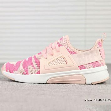 SKECHERS 2018 new one foot set comfortable fashion sports and leisure F-A-FJGJXMY Camouflage pink
