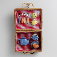 Large Kids Picnic Basket - World Market