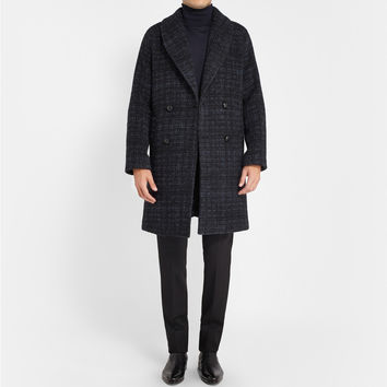 MP di Massimo Piombo - Baby Alpaca-Blend Shawl-Collar Overcoat | MR PORTER