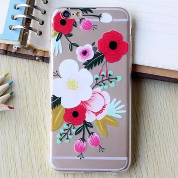 Hollow Out Flower iPhone 5se 5s 6 6s Plus Case Cover  iPhone 7 7Plus Cases + Free Gift Box + Free Shipping  364