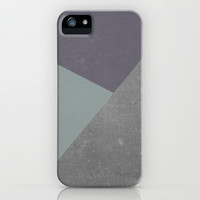 Concrete & Triangles iPhone & iPod Case by no.216