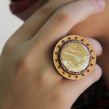 Persian Calligraphy Ring