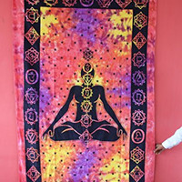 Handicrunch Hippie Mandala Tapestry, Wall Hanging, Indian Tapestry, Brand New Lovely Tapestry, Wall Hanging, and Bedspread, Cotton Bohemian Tapestry, Hippie Tapestry, Cotton Bed Sheet, Decor Art Wall Hanging