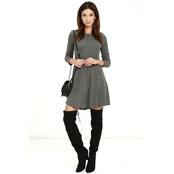 Pardon Me Long Sleeve Dress